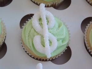 $ Money cupcakes