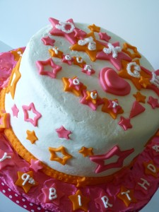 Little Dancer cake