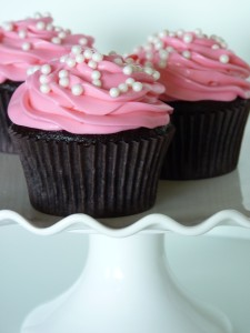 Girl's Night cupcakes