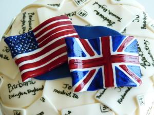 Pen Pal cake
