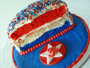 Half Birthday cake - Superhero theme